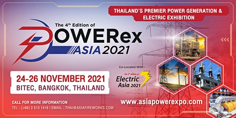 POWERex Asia 2021 and Electric Asia 2021 tickets