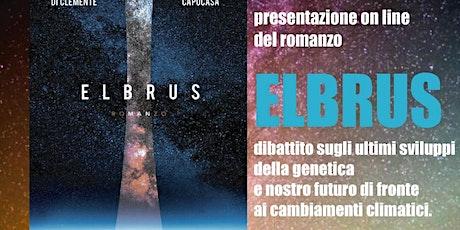 Presentazione romanzo Elbrus biglietti
