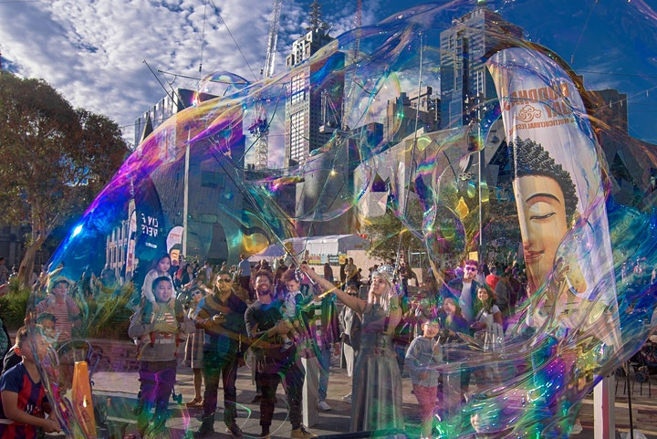 2021 Buddha's Day and Multicultural Festival image