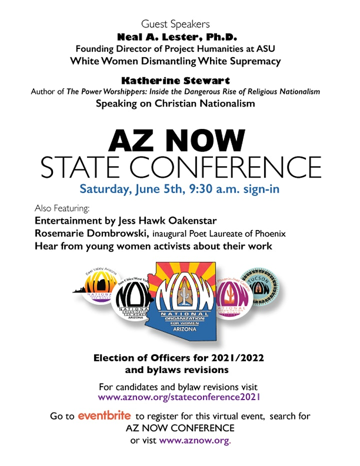 AZ NOW State Conference 2021 & Election of Officers image