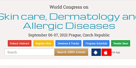World Congress on  Skin care, Dermatology and Allergic Diseases tickets