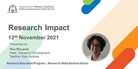 Research Impact - 12 Nov tickets