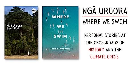 Ngā Uruora and Where We Swim: Books at the Crossroads tickets