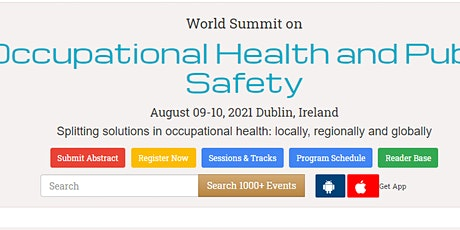 World Summit on  Occupational Health and Public Safety tickets