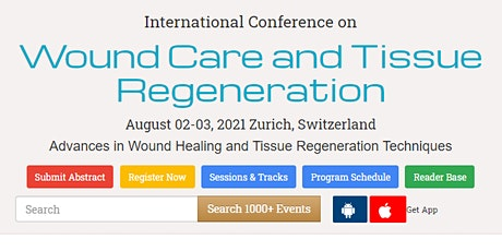International Conference on  Wound Care and Tissue Regeneration tickets