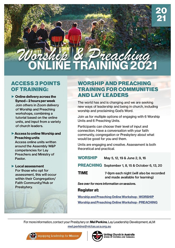 Worship and Preaching Online Workshop - PREACHING image