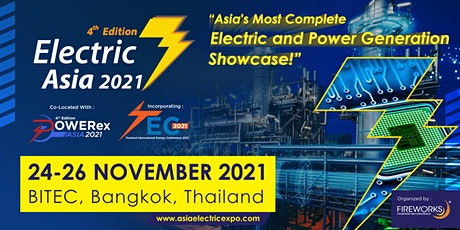 Electric Asia 2021 tickets