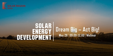 Solar Energy Development: Dream Big – Act Big! tickets
