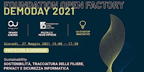 FOUNDATION OPEN FACTORY  DEMODAY_4 biglietti