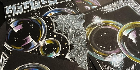 SOAP BUBBLES and Zentangle® tickets