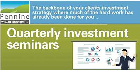 Investment Seminar - Good news our seminar is back as a live event tickets