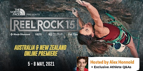 REEL ROCK 15 presented by The North Face Online Premiere - New Zealand tickets