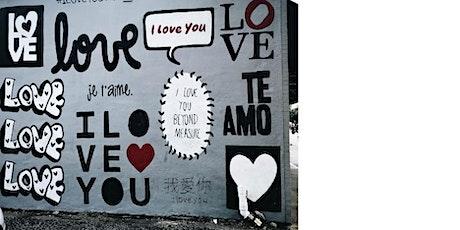 Lenguaje amoroso, lenguaje sanador tickets