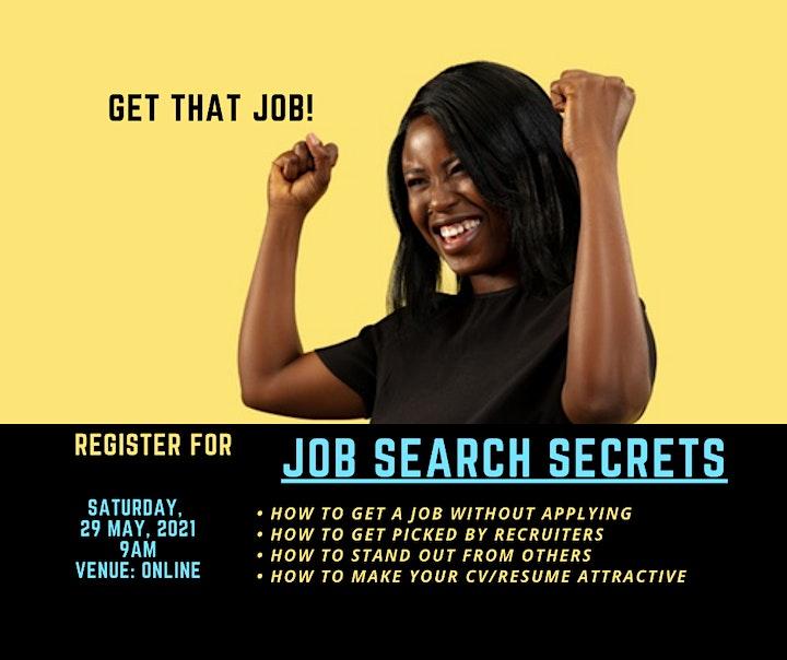 Job Search Secrets image