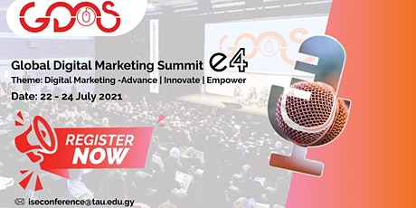 Global Digital Marketing Summit tickets