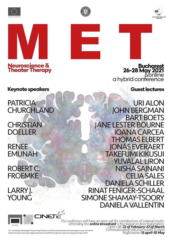 MET: Neuroscience and Theater Therapy @ CINETic Center, Romania image