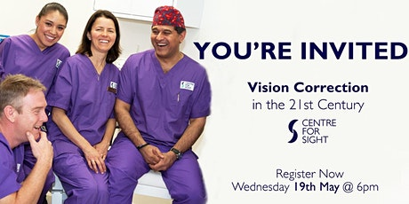 Vision Correction in the 21st Century tickets