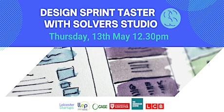 The Design Sprint   Taster session with Solvers  Studio tickets
