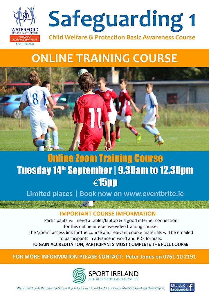 Safeguarding Course 1 - Basic Awareness -  14 September 2021 image