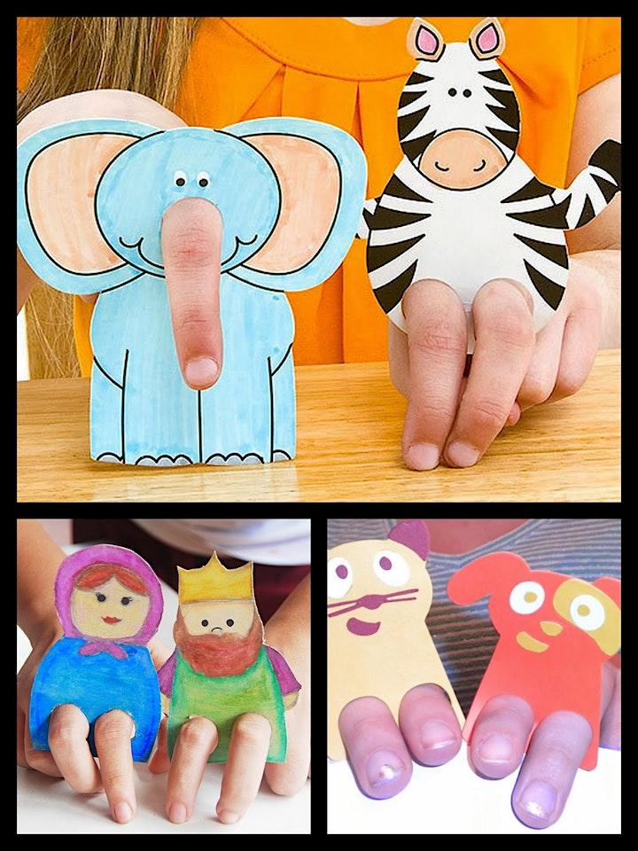 Imagen de Puppets Workshop - Edades recomendada 4 -10 años