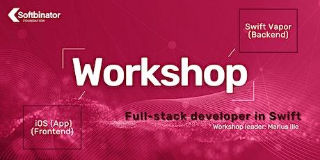 "Workshop ""Full stack developer in Swift: Swift Vapor (Backend) + iOS (App) entradas"