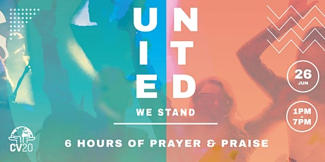 CV20 : UNITED WE STAND tickets