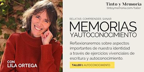 Relatar, comprender, sanar: Memorias y autoconocimiento (I) entradas