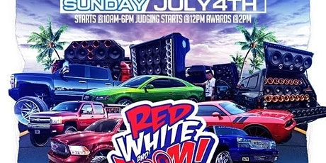 Red,White and Boom Car Show tickets