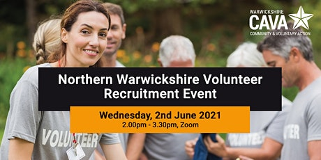 Northern Warwickshire Volunteer Recruitment Event tickets