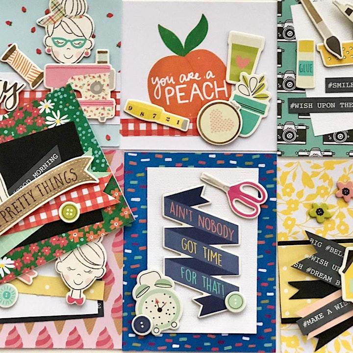 Make & Take - Create A Card image