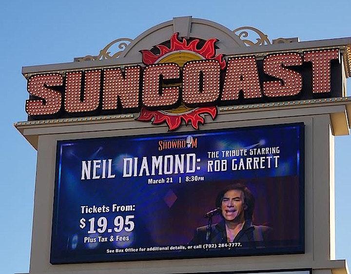 "NEIL DIAMOND - THE TRIBUTE starring Rob Garrett & the ""Pretty Amazing Band"" image"