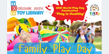 World Play Day Celebration - Family Play Day - 'Play is Healthy' tickets