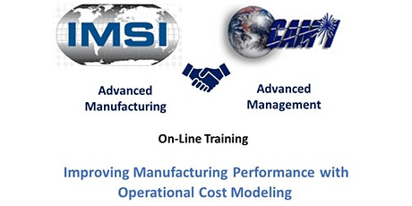 Improving Manufacturing Performance with Operational Cost Modeling tickets