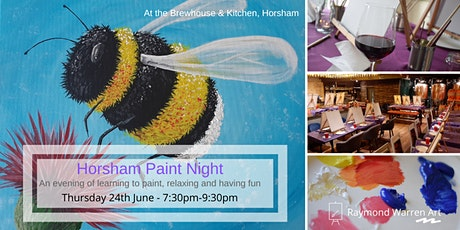 Horsham Paint Night tickets