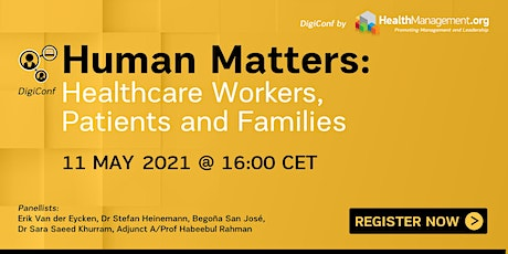 Human Matters: Healthcare Workers, Patients and Families tickets
