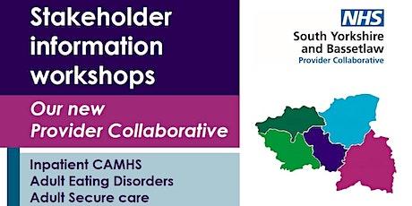 Stakeholder Information Workshops tickets