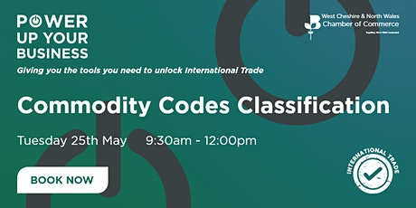 Commodity Codes Classification tickets