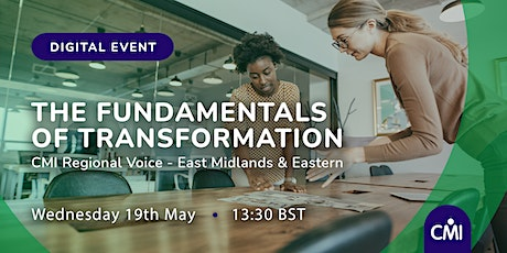 The Fundamentals of Transformation tickets