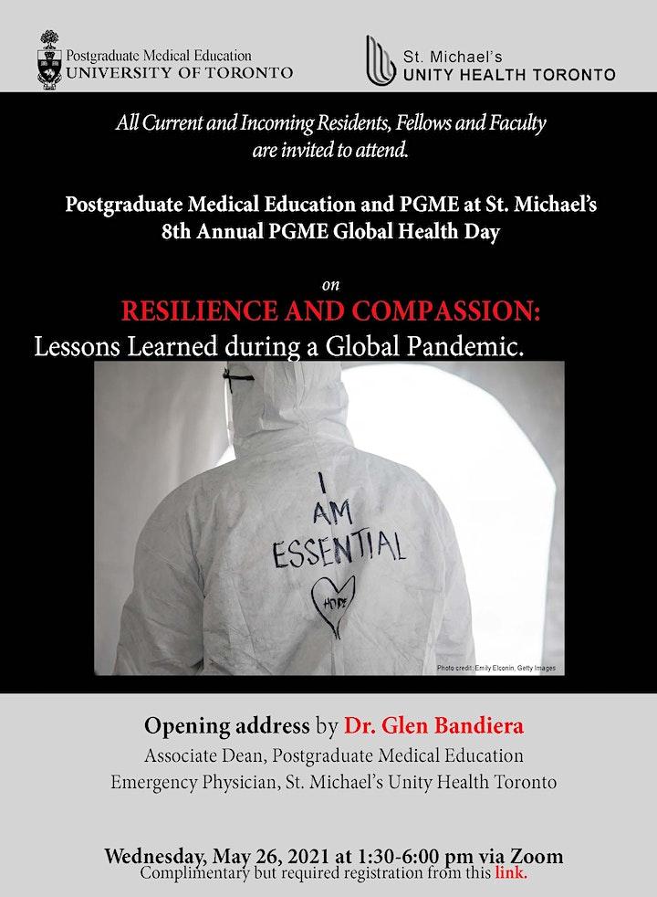 2021 PGME Global Health Day image