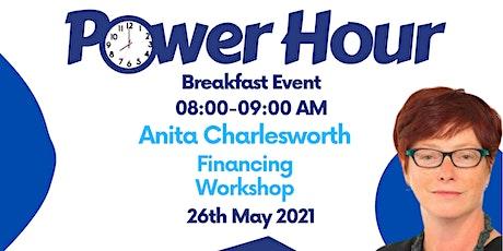 IHSCM POWER HOUR: Finance Workshop with Anita Charlesworth tickets