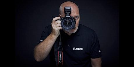Webinar Pascal Vandecasteele over Canon RF objectieven tickets