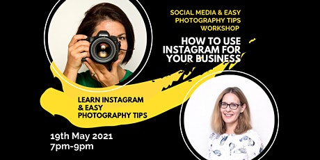 Instagram Made Easy & Photography Tips workshop tickets