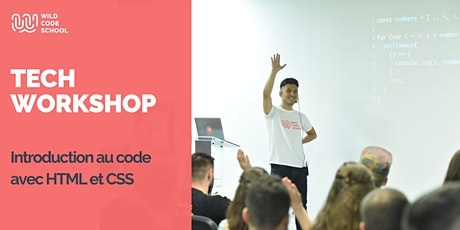 Online Tech Workshop - Introduction au code avec HTML et CSS billets