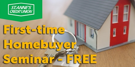 St. Anne's Credit Union Virtual First-Time Homebuyer Seminar tickets
