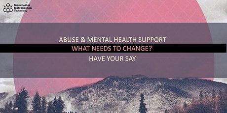 Abuse & Mental Health Support: Professionals Focus Group tickets