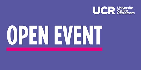 University Centre Rotherham | Virtual Open Event biglietti
