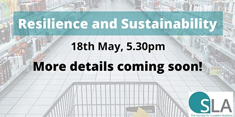 Resilience and Sustainability tickets