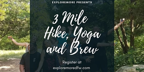 OCNP BIRTHDAY CELEBRATION! 3 Mile Hike, Yoga and Brew tickets