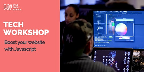 Online Tech Workshop - Boost your website with Javascript tickets