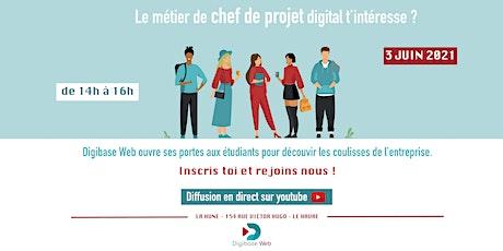 Découvrez le métier de chef de projet digital ! billets